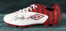 Graeme Souness Autograph Signed Football Boot - Liverpool